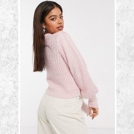 Crew Neck Short Casual Style Office Style Elegant Style