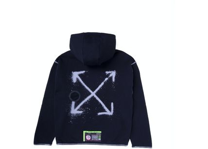 Off-White Hoodies Street Style Collaboration Hoodies 2