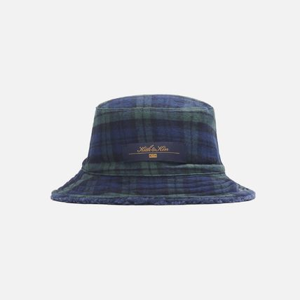 KITH NYC Unisex Street Style Bucket Hats Wide-brimmed Hats