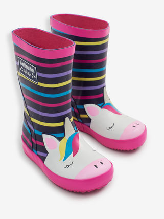 JoJo Maman Bebe Unisex Kids Girl Rain Shoes