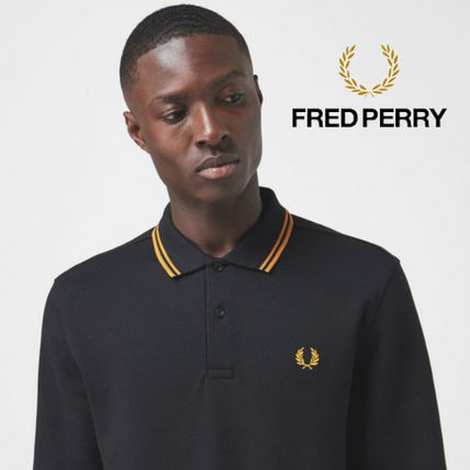 FRED PERRY Polos Long Sleeves Logo Polos
