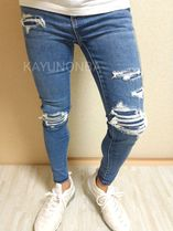 American Eagle Outfitters Skinny Unisex Street Style Skinny Jeans 10