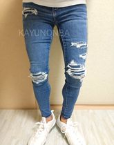 American Eagle Outfitters Skinny Unisex Street Style Skinny Jeans 13