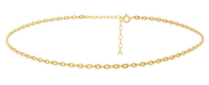Street Style Chain Party Style 14K Gold Elegant Style