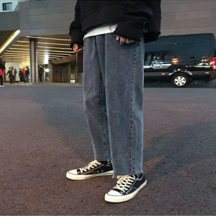 More Jeans Unisex Street Style Oversized Jeans 3
