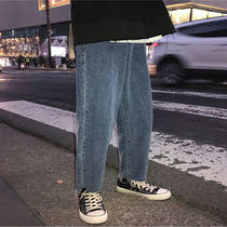 More Jeans Unisex Street Style Oversized Jeans 4