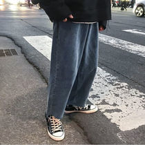 More Jeans Unisex Street Style Oversized Jeans 5