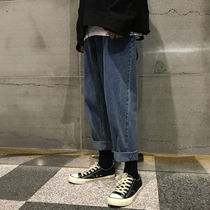 More Jeans Unisex Street Style Oversized Jeans 6