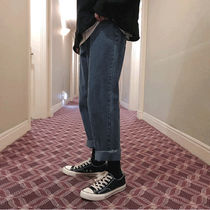More Jeans Unisex Street Style Oversized Jeans 9
