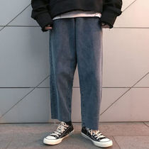 More Jeans Unisex Street Style Oversized Jeans 11
