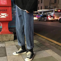 More Jeans Unisex Street Style Oversized Jeans 13