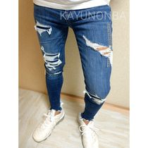 American Eagle Outfitters Skinny Unisex Street Style Skinny Jeans 5