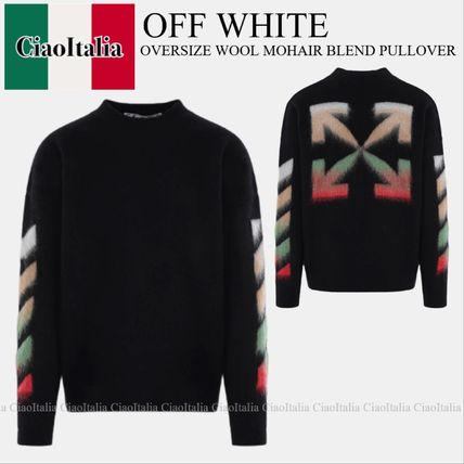 Off-White Sweaters Street Style Sweaters