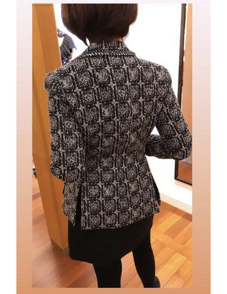 Louis Vuitton Metallic Lurex Monogram Tweed Blazer