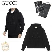 GUCCI Pullovers Long Sleeves Cotton Luxury Hoodies