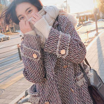 Tweed Long Fringes Chester Coats