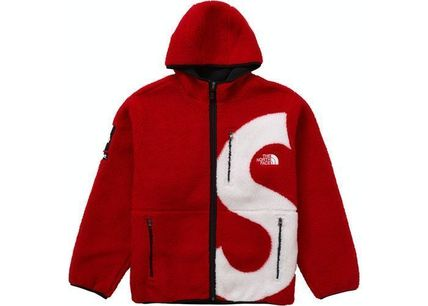 THE NORTH FACE Hoodies Unisex Street Style Collaboration Long Sleeves Plain Outdoor 2