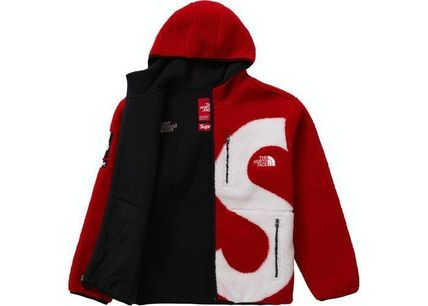 THE NORTH FACE Hoodies Unisex Street Style Collaboration Long Sleeves Plain Outdoor 3
