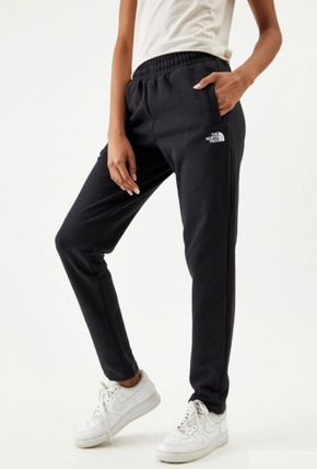THE NORTH FACE Logo Casual Style Unisex Sweat Plain Long Street Style