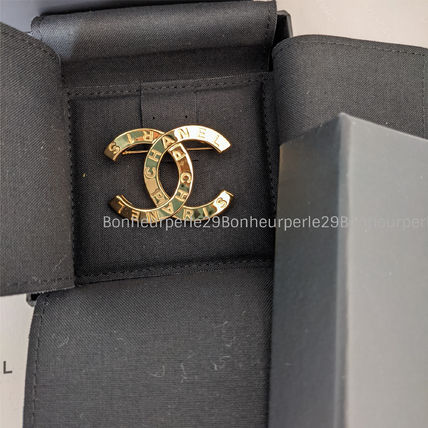 CHANEL Casual Style Party Style Brass Elegant Style Formal Style