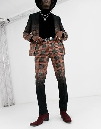 ASOS Co-ord Other Plaid Patterns Slax Pants Tapered Pants