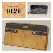 PRIMA CLASSE Leather PVC Clothing Long Wallets