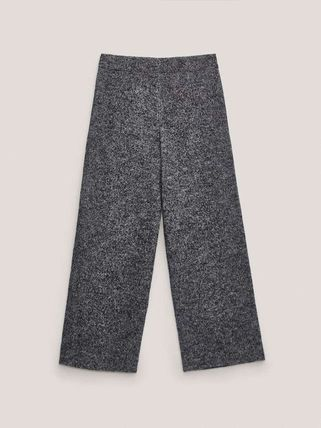 Massimo Dutti Casual Style Wool Cotton Medium Office Style Culottes