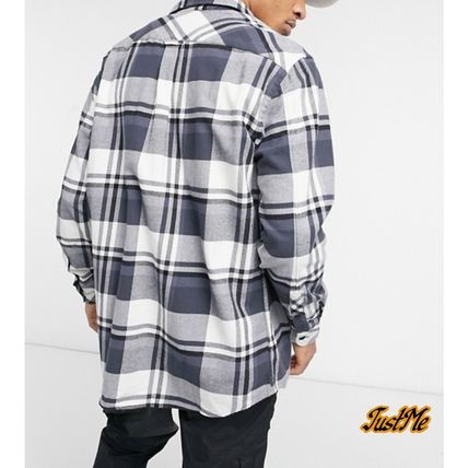 Tommy Hilfiger Shirts Other Plaid Patterns Street Style Collaboration Long Sleeves 3