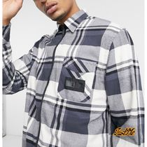 Tommy Hilfiger Shirts Other Plaid Patterns Street Style Collaboration Long Sleeves 4