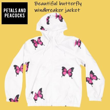 Petals and Peacocks More Jackets Unisex Street Style Logo Jackets