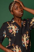 Petals and Peacocks Shirts Unisex Street Style Shirts 4