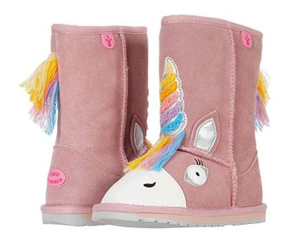 Street Style Kids Girl Boots