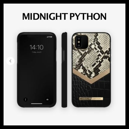 Faux Fur Plain Other Animal Patterns Python iPhone 8