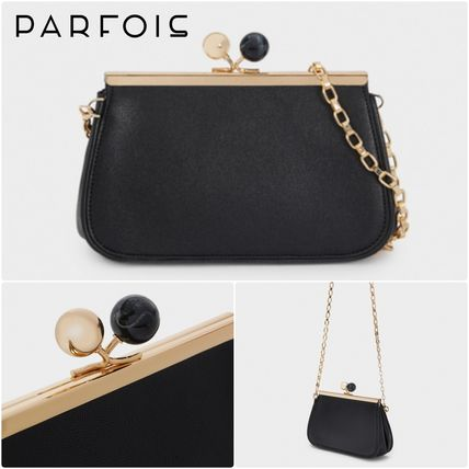 PARFOIS Crossbody Bridal 2WAY Chain Party Style Elegant Style