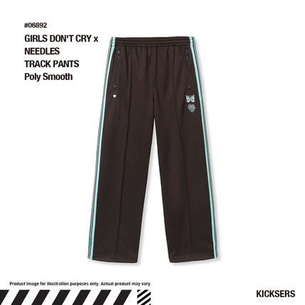 Girls Don't Cry Unisex Street Style Collaboration Logo Bottoms