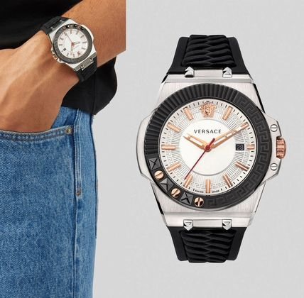 VERSACE Street Style Analog Watches