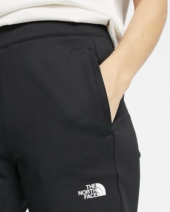 THE NORTH FACE Casual Style Sweat Street Style Plain Logo Loungewear