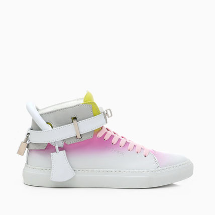 Platform Rubber Sole Lace-up Casual Style Street Style