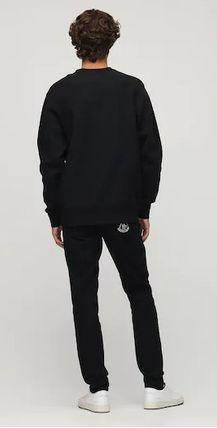 MONCLER Sweatshirts Crew Neck Street Style Collaboration Long Sleeves Cotton 5
