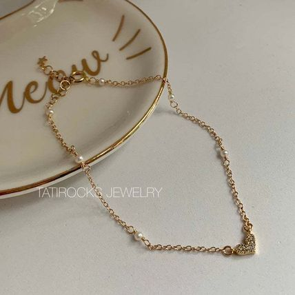 Casual Style Street Style Party Style Silver 14K Gold