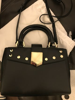 Jimmy Choo Casual Style 3WAY Plain Leather Party Style Elegant Style