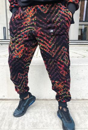 THE NORTH FACE Tapered Pants Other Plaid Patterns Unisex Street Style