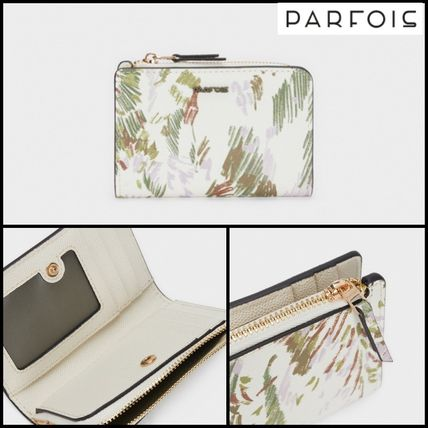 Flower Patterns Long Wallet  Small Wallet Coin Cases
