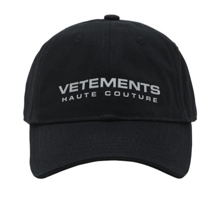 VETEMENTS Unisex Street Style Caps
