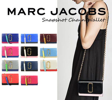 MARC JACOBS Snapshot Casual Style Unisex Street Style Vanity Bags A4 2WAY