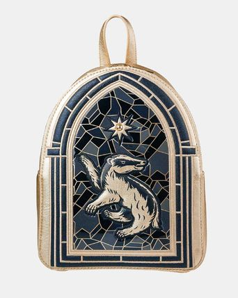 Casual Style Street Style Collaboration Logo Backpacks
