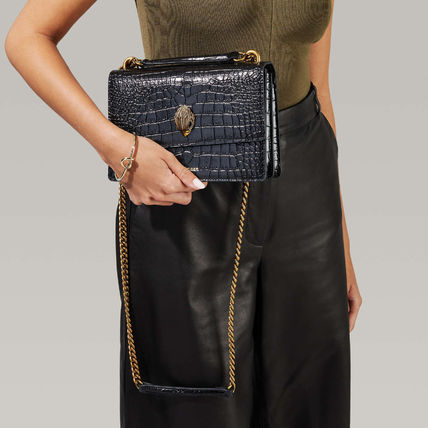 Leather Party Style Elegant Style Formal Style  Satchels