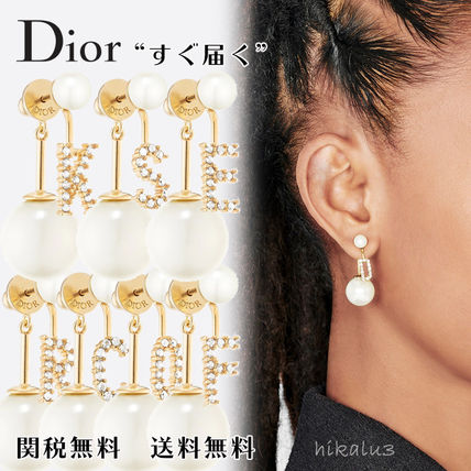 Christian Dior Casual Style Initial Party Style Elegant Style Formal Style