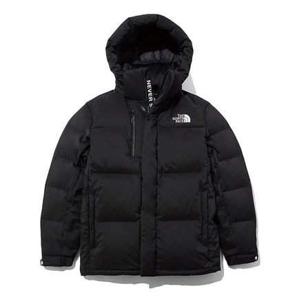 THE NORTH FACE WHITE LABEL Unisex Street Style Plain Medium Logo Down Jackets