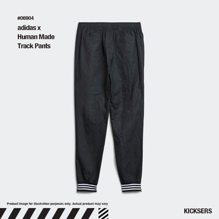HUMAN MADE Heart Unisex Street Style Collaboration Plain Logo Pants